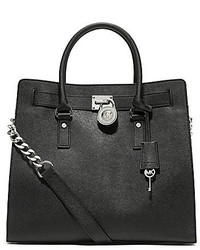MICHAEL Michael Kors Michl Michl Kors Hamilton Large Northsouth Leather Tote