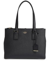 Kate Spade New York Cameron Street Small Jensen Leather Tote Black