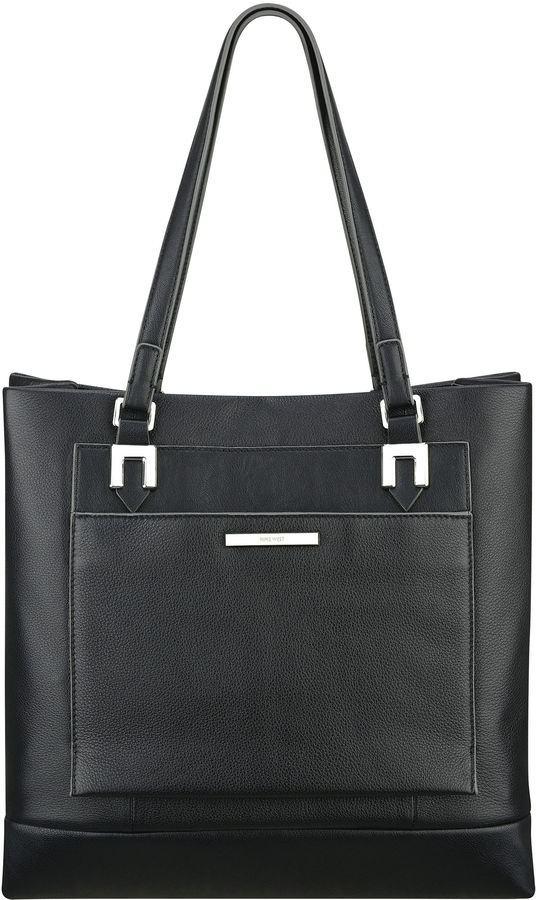 169 Nine West Ainslie Leather Tote Bag