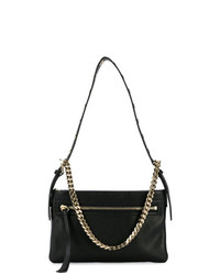 RED Valentino Red Chain Embellished Shoulder Bag