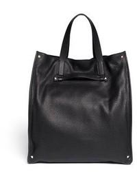 Valentino Rockstud Grainy Leather Tote