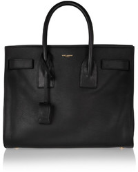 Saint Laurent Sac De Jour Small Leather Tote Black