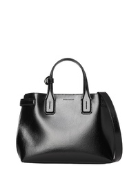 0135aea1bf450 Women s Black Leather Tote Bags by Burberry