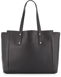 Ivanka Trump Soho Leather Tote Bag Black