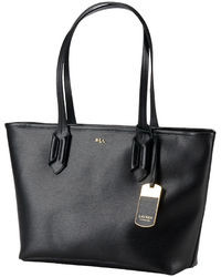bec9331623 Women s Black Leather Tote Bags by Lauren Ralph Lauren
