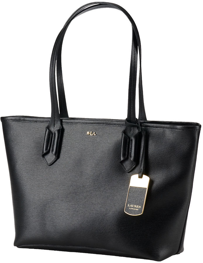 333a75e13b ... Bags Lauren Ralph Lauren Tate Leather Shopper Bag ...