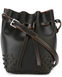 Tod's Small Wave Bucket Tote