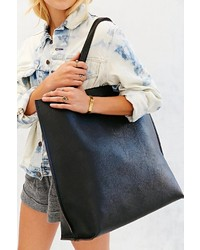 Urban Outfitters Oversized Reversible Vegan Leather Tote Bag