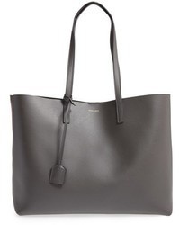 Saint Laurent Shopping Leather Tote Black