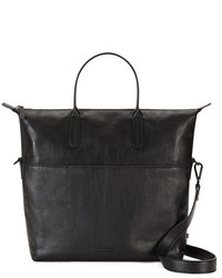 Ben Minkoff Victor Zipper Leather Tote