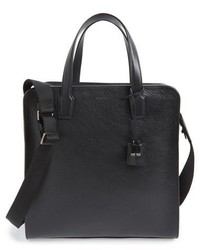 Ermenegildo Zegna Yum Leather Business Tote