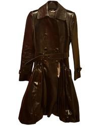 Alexander McQueen Leather Trench Coat