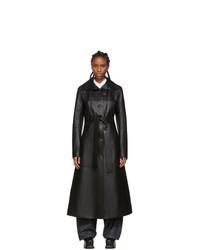 Loewe Black Pocket Coat