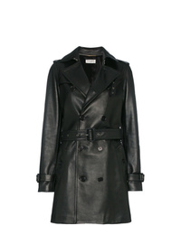 Saint Laurent Double Breasted Trench Coat