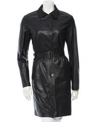 Jil Sander Leather Coat