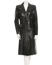 Givenchy Leather Trench Coat