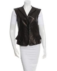 Alexander McQueen Leather Vest