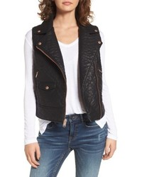 Billie faux leather vest medium 4913362