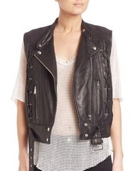 IRO Neo Lace Up Leather Vest