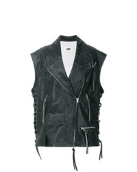 MM6 MAISON MARGIELA Sleeveless Biker Jacket