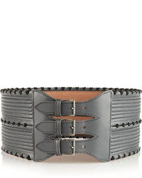 Alaia Alaa Leather Waist Belt
