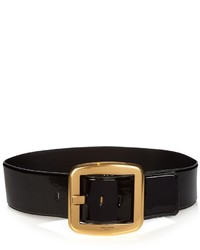 Saint Laurent Carre Patent Leather Waist Belt