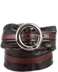 Dolce & Gabbana Dg Leather Waist Belt W Tags