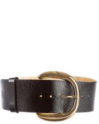 Dolce & Gabbana Dg Patent Leather Waist Belt