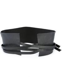 Isabel Benenato Multi Strap Waist Belt