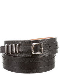 Proenza Schouler Leather Buckle Waist Belt