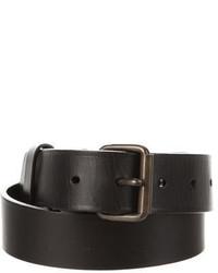 Lanvin Leather Buckle Waist Belt