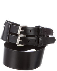 Burberry Leather Waist Belt