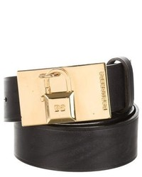Dsquared2 Leather Waist Belt