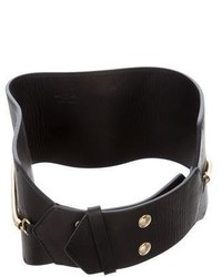 Lanvin Leather Waist Belt W Tags