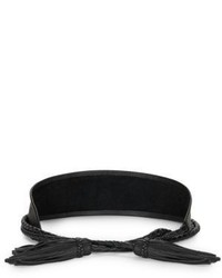 ADA Leather Waist Tasseled Belt
