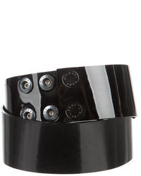 Michael Kors Michl Kors Patent Leather Waist Belt