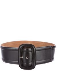 Michael Kors Michl Kors Wide Leather Waist Belt