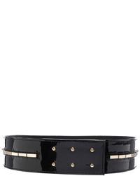 Alexandre Vauthier Patent Leather Waist Belt