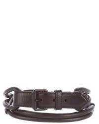 Burberry Prorsum Leather Waist Belt