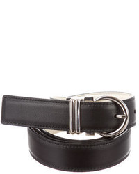 Salvatore Ferragamo Reversible Leather Waist Belt