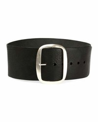 Isabel Marant Tikky Wide Leather Waist Belt