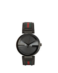 Gucci Black Interlocking Watch