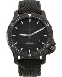 Mühle-Glashütte Black Sea Timer Blackmotion Watch