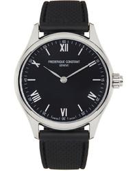 Frederique Constant Black Smartwatch Gents Vitality Watch