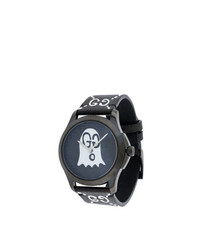 Gucci Black White Ghost G Timeless Watch