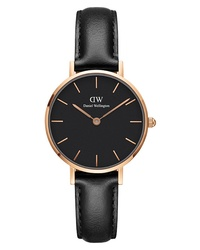 Daniel Wellington Classic Petite Leather Watch