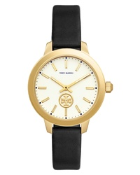 Tory Burch Collins Leather Watch
