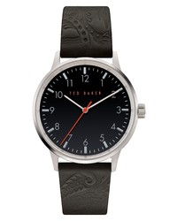Ted Baker London Cosmop Leather Watch