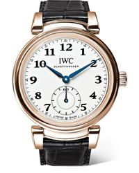 IWC SCHAFFHAUSEN Da Vinci Automatic 40mm 18 Karat Red Gold And Alligator Watch
