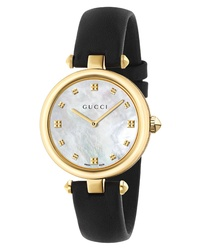 Gucci Diamantissima Leather Watch